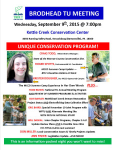 September 2015 Meeting Flyer