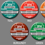 Vote for Your Favorite Fishing License Button for 2016