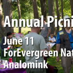 Annual Chapter Picnic June 11 at ForEvergreen Nature Preserve