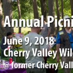 Chapter Annual Picnic June 9 in Cherry Valley