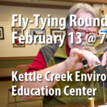 February 2019 BTU Chapter Meeting Fly Tying Round Robin