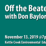 November 2019 Brodhead TU Meeting Features Don Baylor