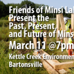 Friends of Minsi Lake Present the Past, Present, and Future of Minsi Lake